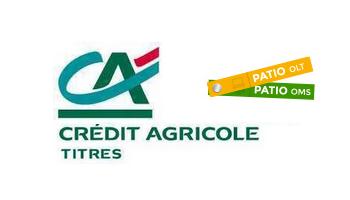 Références - Crédit Agricole utilise PATIO OLT et PATIO OMS
