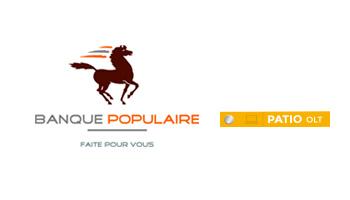 BCP Banque Populaire utilise PATIO OLT