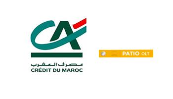 CDM Crédit Du Maroc utilise PATIO OLT