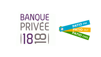 Banque Privée 1818 utilise PATIO PM , PATIO OMS et PATIO OLT