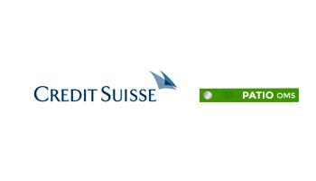 Crédit Suisse utilise PATIO OMS